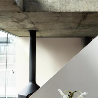 betong tak öppen spis arkitektur trend 2015