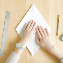 romb papper